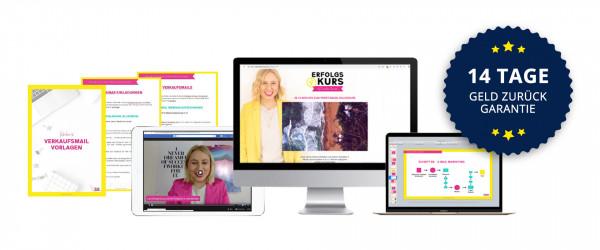 ErfolgsKurs - dein Weg zum profitablen Onlinekurs von Caroline Preuss