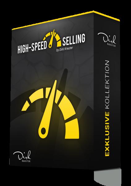High-Speed Selling der brandneue Online-Kurs von Dirk Kreuter