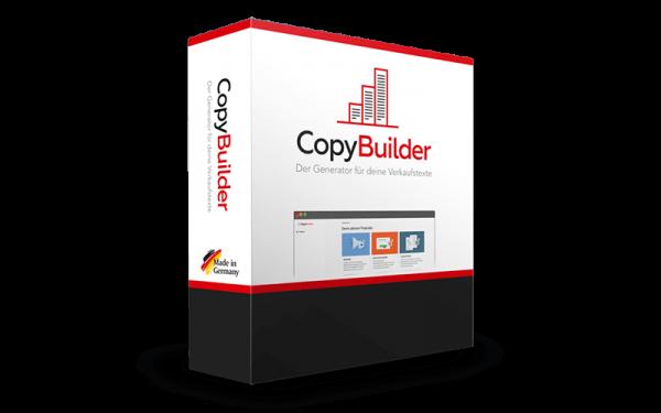 CopyBuilder Marketing Tool für perfekte Verkaufstexte