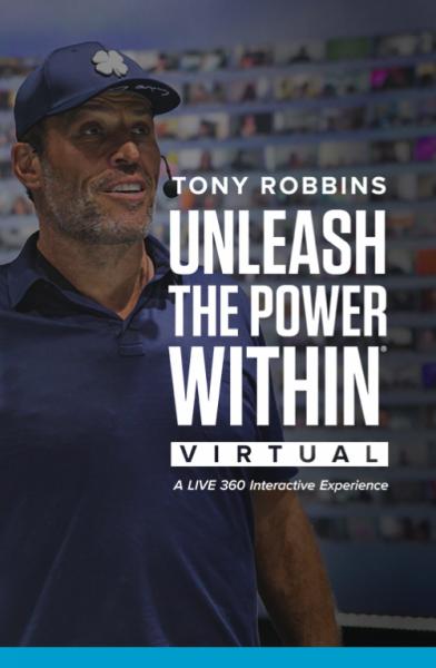 Unleash the Power Within - 360 Grad Event von Tony Robbins