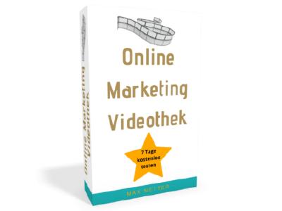 Online Marketing Videothek für 7 Tage kostenlos testen!
