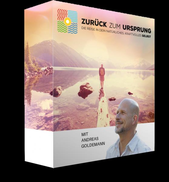 ZURÜCK zum URSPRUNG von Andreas Goldemann