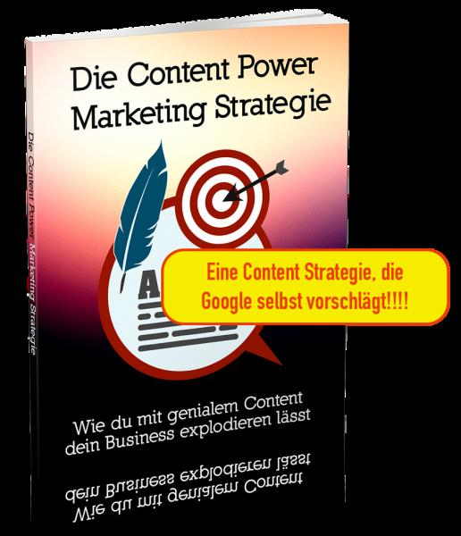 Content Power Marketing Strategie - Das Buch von Ralf Schmitz
