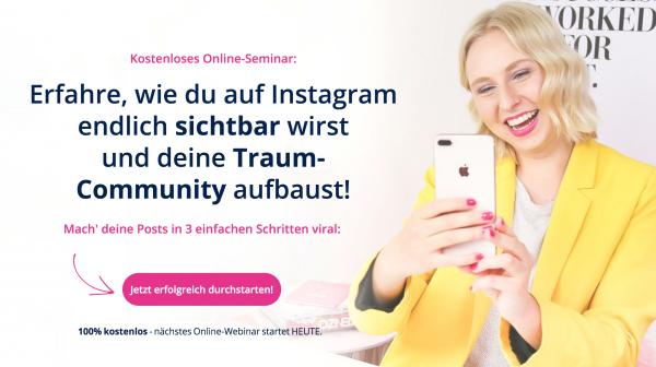 Wie du auf Instagram Follower aufbaust und damit Geld verdienst!