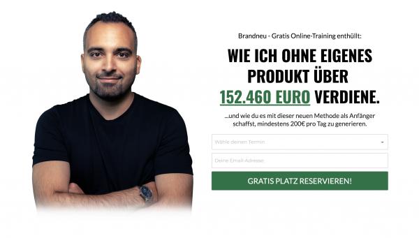 Wie ich ohne eigenes Produkt über 152.460 EURO erziele! - Said Shiripour