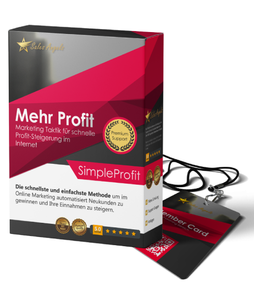 Simple Profit 3.0 - Amazon Kindle Strategie von Sales Angels