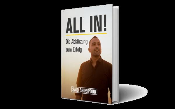 ALL-IN Buch - Die Abkürzung in deine erfolgreiche Zukunft