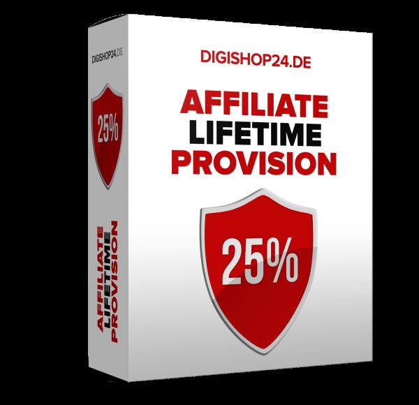Digishop24 Partnerprogramm - Das 25% Livetime-Partnerprogramm