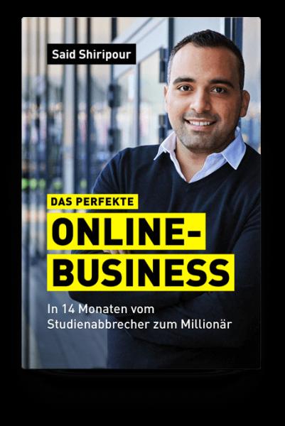Said Shiripour - Das perfekte Online-Business - Buch & Höhrbuch