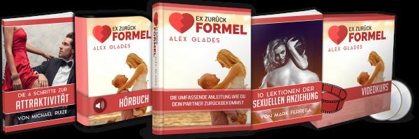 Ex zurück Formel von Alex Glades - Ex Freundin zurückgewinnen